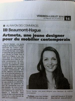 La Presse de la Manche / Juillet 2014