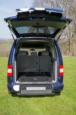 Absenkfahrzeug Volkswagen Caddy