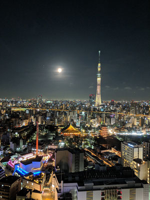 Skyline mit Skytree (634m) 🌕