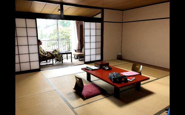 Unser traditionelles Ryokan.