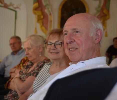 Peter Kotacka, Vorsitzender des KV Stuttgart und Frau Renate