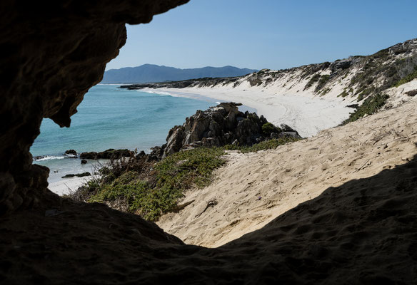 Klipgat cave at Walker Bay Nature Reserve, Western Cape, South Africa
