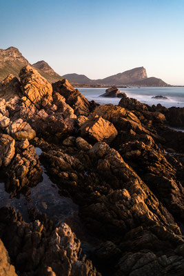 Seascape of Pringle Bay as seen from Rooi-Els , South Africa