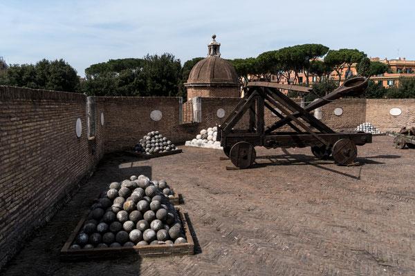 Catapult artillery