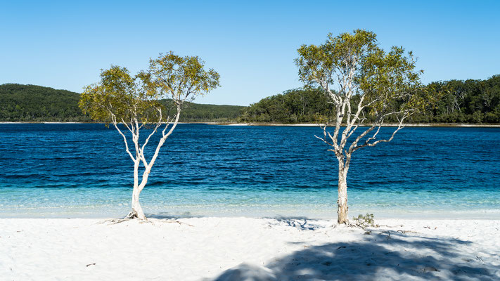 Lake McKenzie, Queensland, Australia