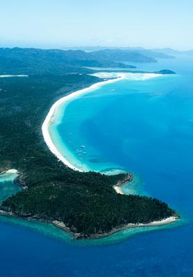 Whitehaven beach on Whitsunday Island, Queensland, Australia