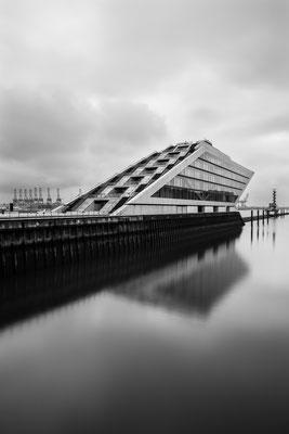 Docklands at river Elbe, Hamburg