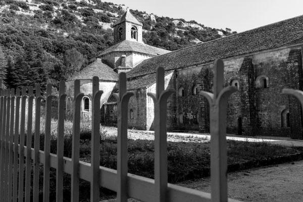 Fence at Abbaye de Senanque