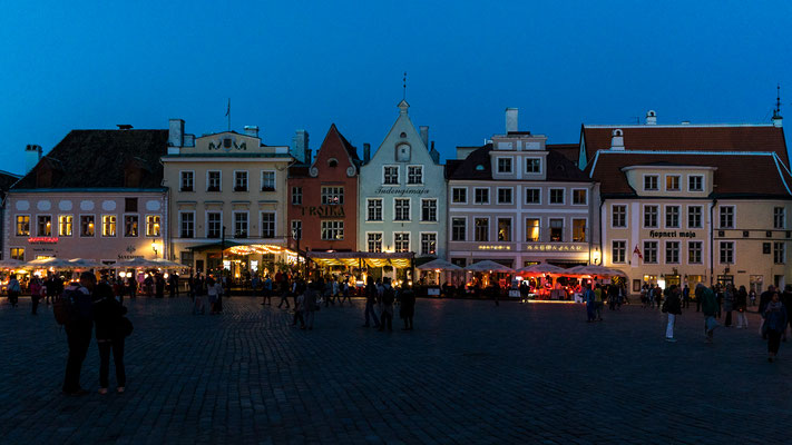 Market place in central Tallinn