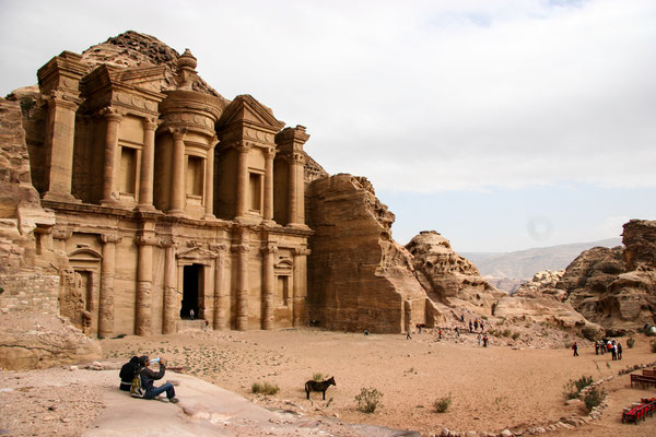 "Ad Deir or ""The Monastery"" in Petra"