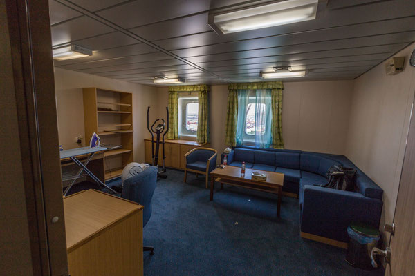 Plenty of space in the Owner's cabin