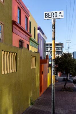 Berg Street in Bo-Kaap, Capetown, South Africa
