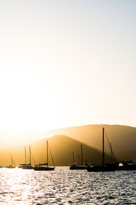 Sunset in Airlie Beach, Queensland, Australia