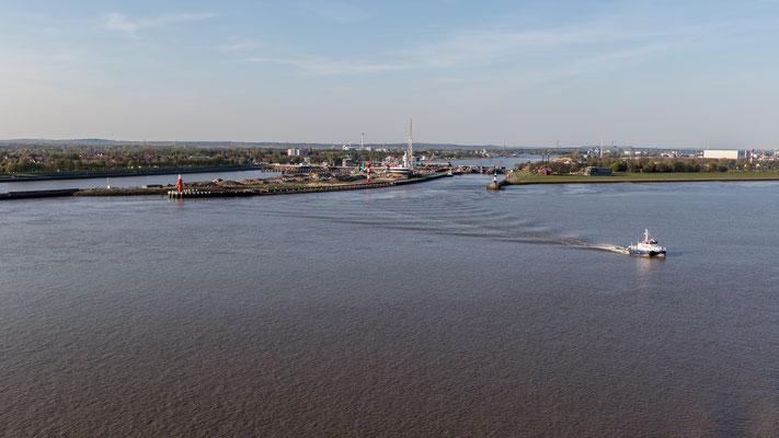 Passing Kiel Canal