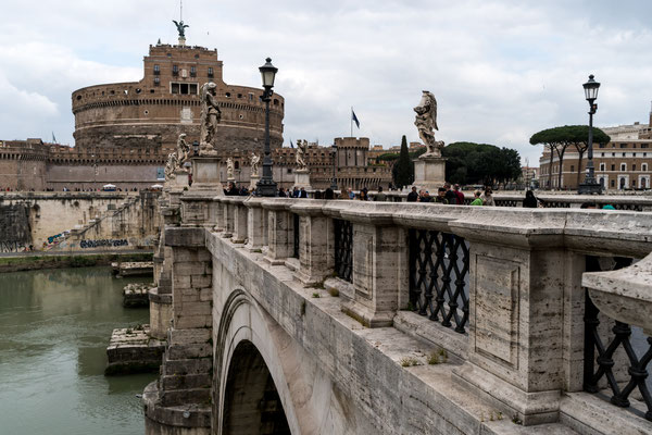 Pons Aelius towards Castel Sant'Angelo