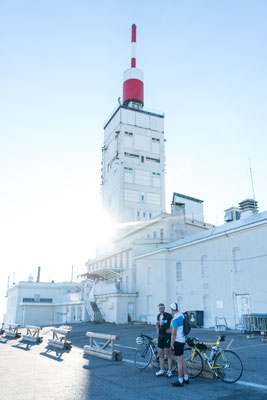 Observatory on top of Mont Ventoux, Provence