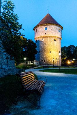 Tower at Toompea hill in Tallinn
