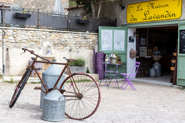 Lavender decoration in Provence