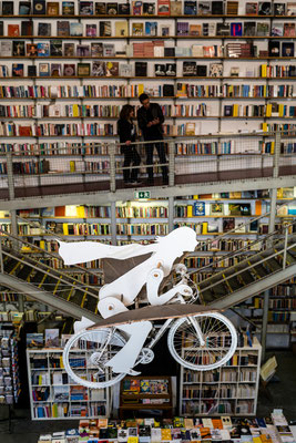 Livraria Ler Devagar library in Lisbon's Lx factory