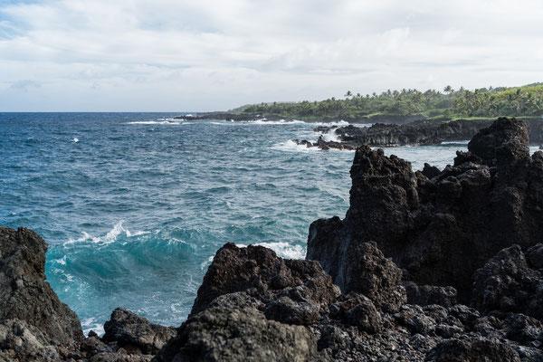 Seascape at Waiʻānapanapa State Park, Maui, Hawai'i Island, USA