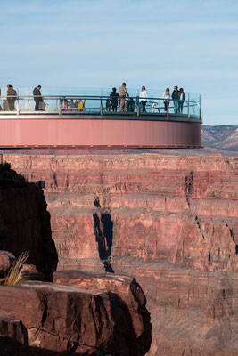 Grand Canyon Skywalk in Arizona, USA