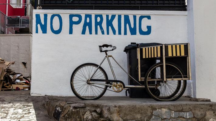 Bike in Bo-Kaap, Capetown, South Africa