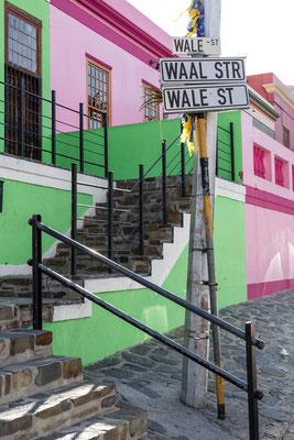 Wale Street in Bo-Kaap, Capetown, South Africa