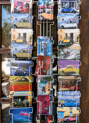 Post cards in Provence