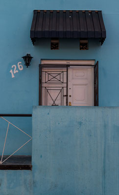 House numbers in Bo-Kaap, Capetown, South Africa