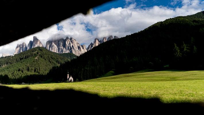 Church of Saint John in Ranui, Southern Tyrol, Italy