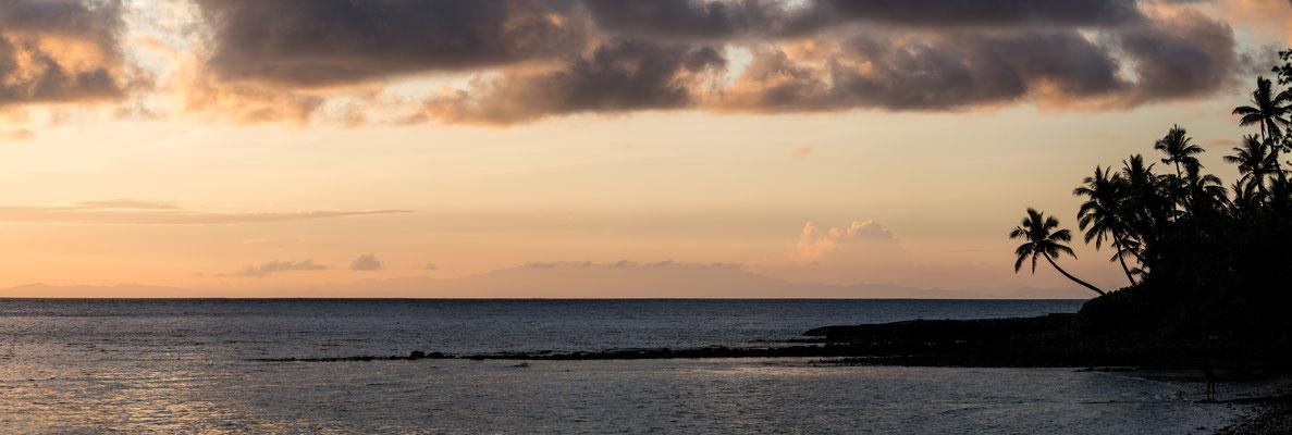 Sunrise at Naukacuvu Island, Yasawa Islands, Fiji