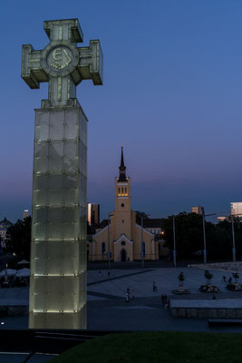 Cross in Tallinn, Estonia