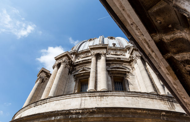 Some architectural detail of St. Peter's Basilica