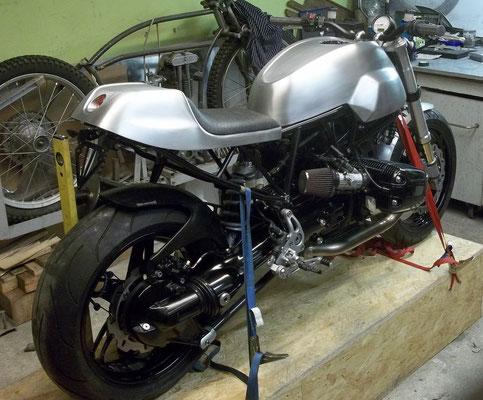 BMW Ducati Autank Aluhöcker