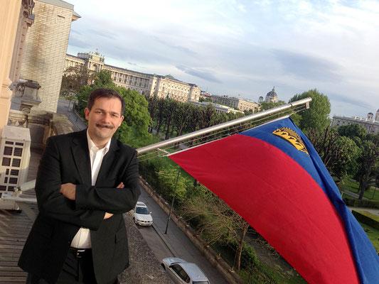 Mai 2013, Wien-Reise des Liechtensteiner Presseclubs