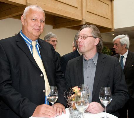 Festakt 40 Jahre Liechtensteiner Presseclub, Albert Mennel & Gerd Endrich