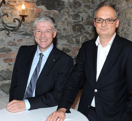 Juni 2013, Peer Teuwsen, Journalist des Jahres 2012 in der Schweiz, zu Gast beim LPC