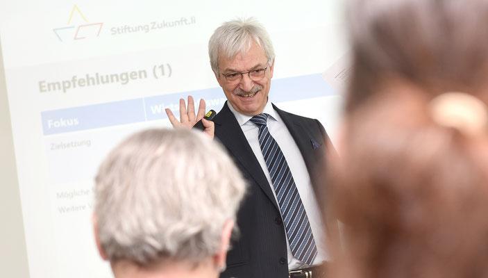 """April 2016, LPC zu Besuch bei der """"Stiftung Zukunft Liechtenstein"""""""