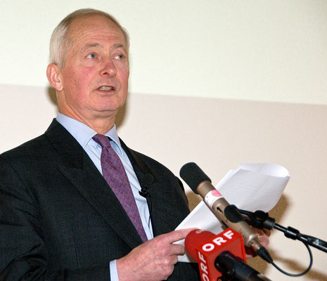 Festakt 40 Jahre Liechtensteiner Presseclub, S.D. Fürst Hans Adam II. von und zu Liechtenstein