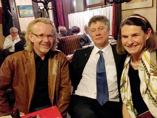 Mai 2013, Wien-Reise des Liechtensteiner Presseclubs - Im Hawelka