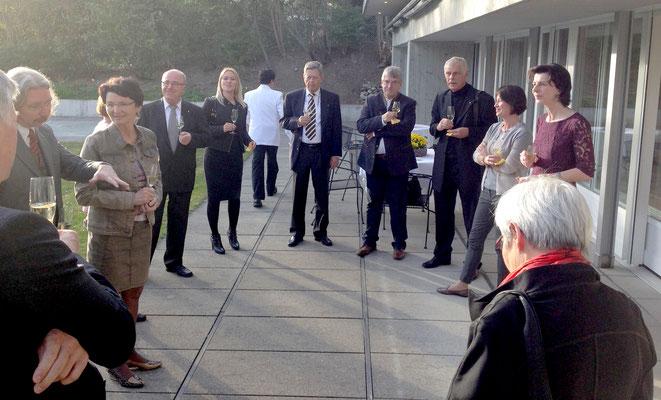 April 2014, Besuch der Botschaft in Bern