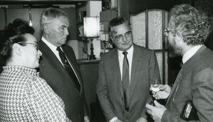 16. Oktober 1986 Generalversammlung des Liechtensteiner Presseclubs mit Vortrag von Pater Robert Hotz