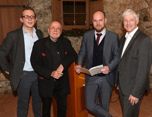 Dezember 2017, LPC Treffen mit dem PEN-Club Liechtenstein