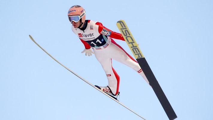 Saut à ski (sce : Video Eurosport)