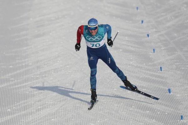 Ski de fond (sce : L'Équipe)