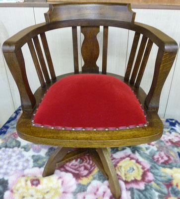 楢回転椅子