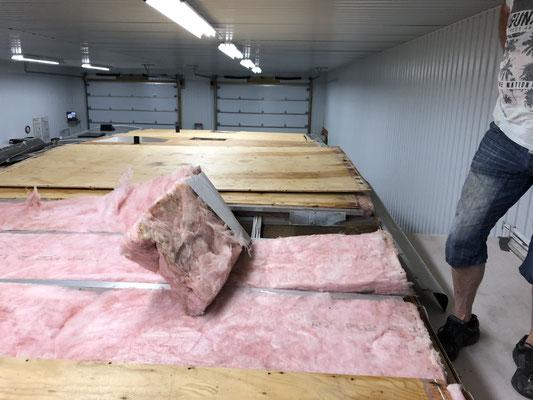 Réparation de toit de vr
