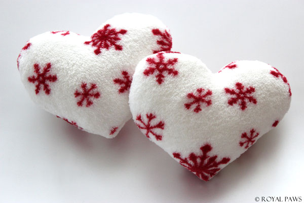 """SNOWFLAKE"" white/red"