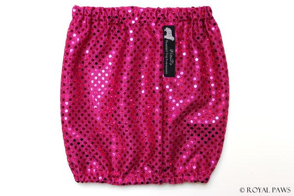 pink Lurex mit pink Pailletten