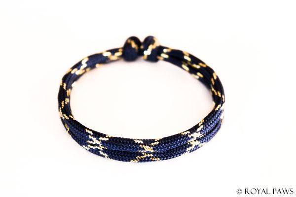 GLITTER navy blue / gold